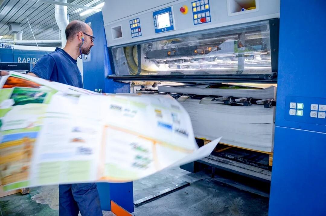 高宝大幅面胶印机利必达系列产品风靡全球