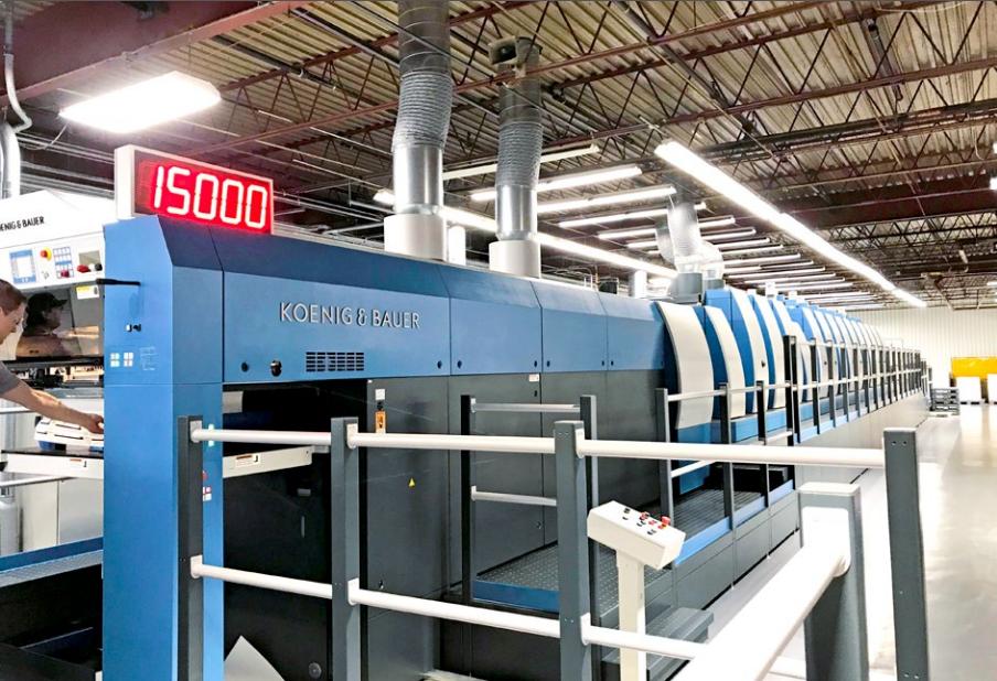 """高宝私""""企""""定制的利必达106印刷机在高档包装市场充满无限可能"""