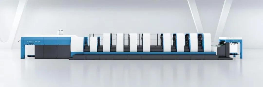天辰娱乐app下载八色利必达106双面印刷翻转机为Druckerei Rindt设定了成功标杆——每次轮班超过350次换版